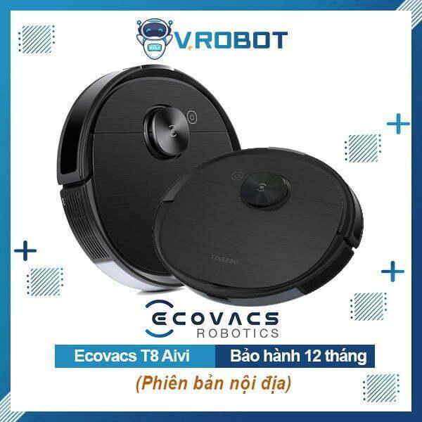Robot Hút Bụi Lau Nhà Ecovacs Deebot Ozmo T8 Aivi (Nội Địa)